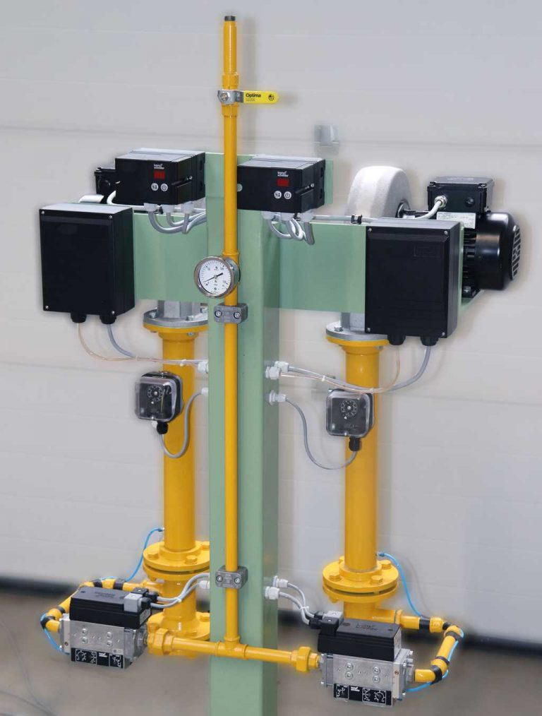Gasregelstrecke Gas-air-mixing-device